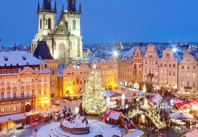 Mercatini di Natale a Praga Voli di Linea dalla Sardegna
