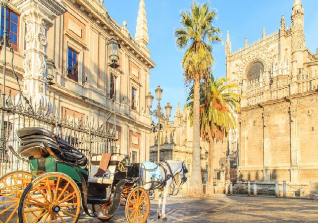 Tour dell'Andalusia Voli diretti da Cagliari
