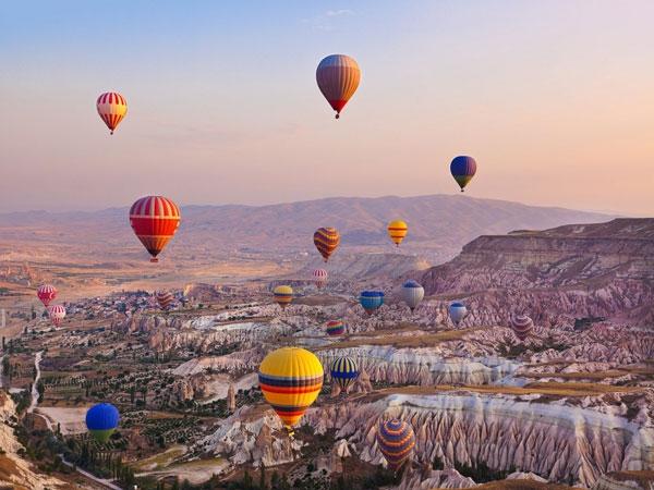 Istanbul e Tour della Cappadocia Voli diretti da Cagliari